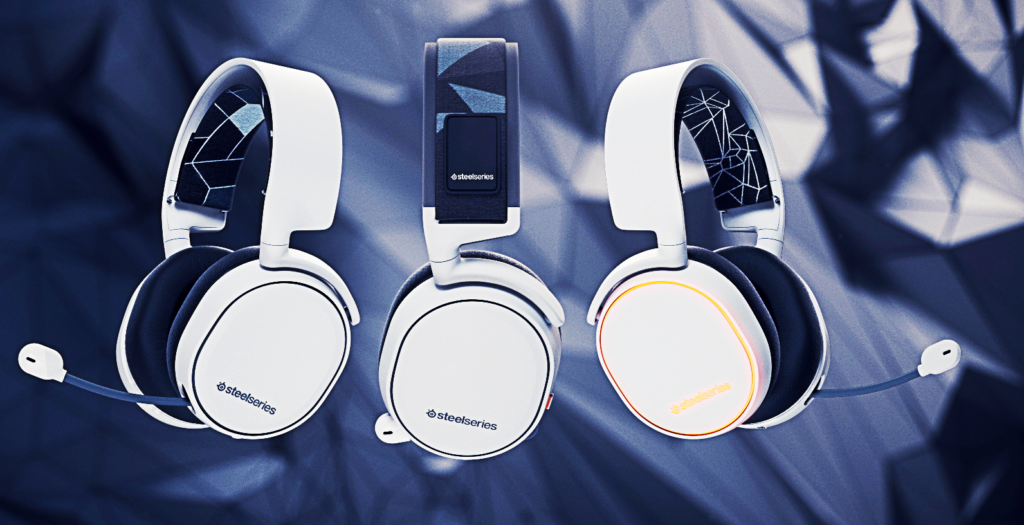 SteelSeries Arctis Gaming Headsets Designs