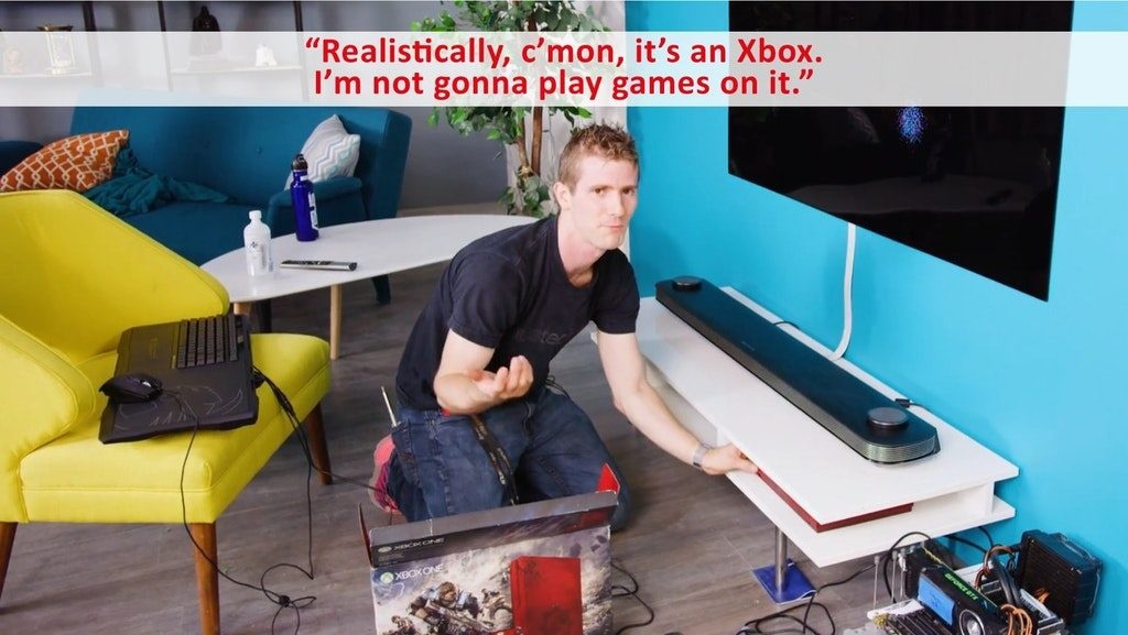 linus meme gaming pc vs konsole